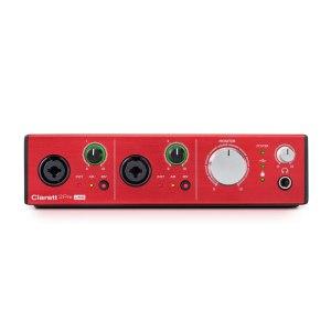 Focusrite Clarett 2Pre USB 10-in 4-out audio interface