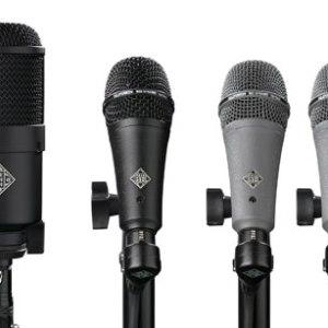 Telefunken DD4 Dynamic Drum Microphone Kit