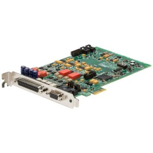 Lynx E22 2 Channel Analogue & 2 Channel Digital I/O PCIe Card