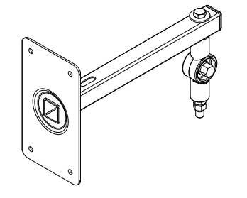 Eve Audio SC204/SC205 Mic Thread Wall Mounting Adapter Assembly