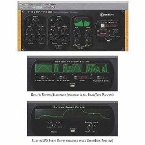 SoundToys Filter Freak V5 Analog Modelling Filter Software (Electronic Delivery)