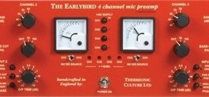 Thermionic Culture Earlybird 4 Channel Microphone Preamp