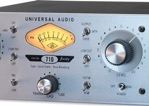 Universal Audio 710 Twin-Finity Microphone/Line Preamp and Hi-Z Instrument DI