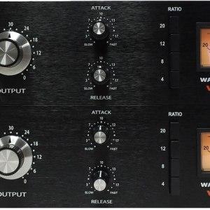 Warm Audio WA76 Compressor Stereo Linked Pair