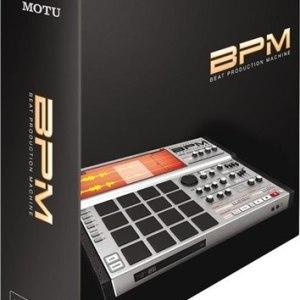 MOTU BPM Drum and Percussion Virtual Instrument Software