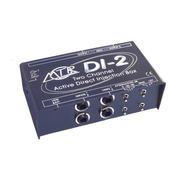 MTR Di-2 2 Channel Active DI Box