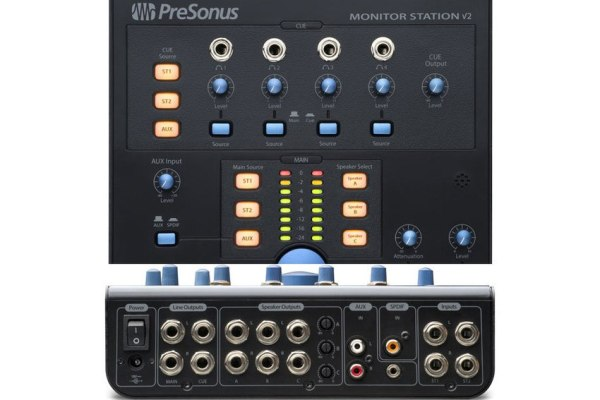 Presonus Monitor Station V2 Updated Table Top Studio Control Centre