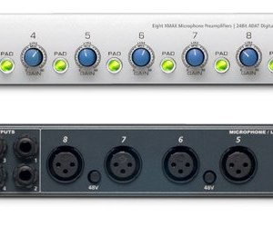 Presonus DigiMAX D8 Eight Channel Mic Preamp With ADAT Digital I/O