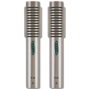 Royer Labs R-121 Ribbon Microphone, Matched Pair