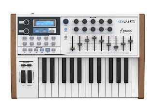 Arturia Keylab 25 Controller Keyboard available from Kazbar Systems