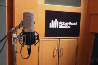 Audio Technica 5040 Microphone Launch at Abbey Road Studios London with Kazbar Systems