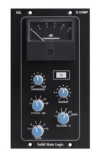 SSL G Comp 500 Series Buss Compressor available from Kazbar Systems
