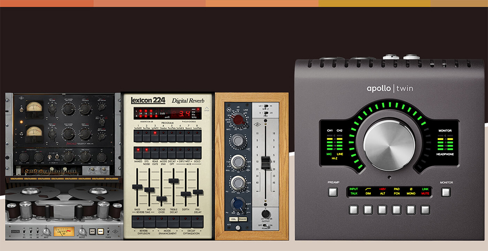Universak Audio Apollo Twin MKII available from Kazbar Systems