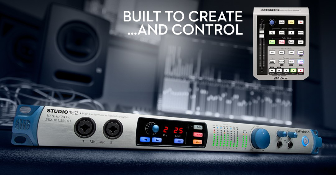 Presonus 192 inc FREE Fader Port available from Kazbar Systems