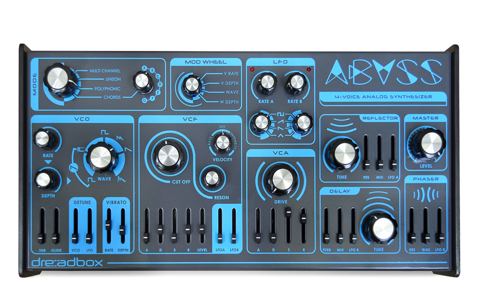 Dreadbox Abyss available from Kazbar Systems