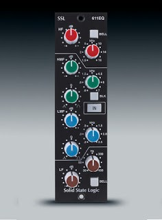 SSL 611EQ 500 Series Module available from Kazbar Systems