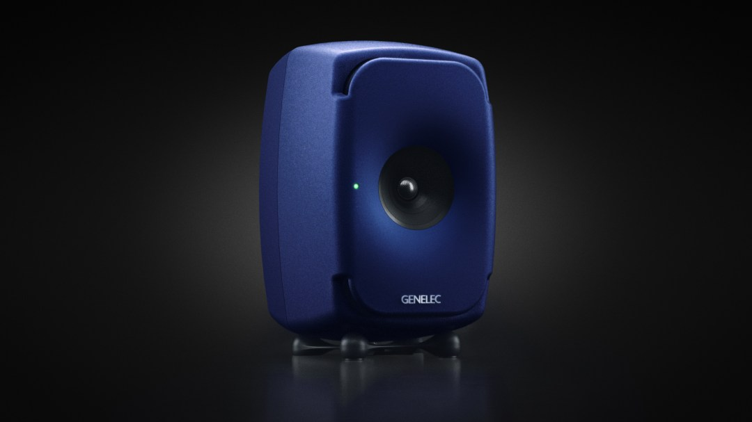 GENELEC RELEASE VERY LIMITED SPECIAL EDITION OF THE 8341 IN SAPPHIRE BLUE  available from Kazbar Systems