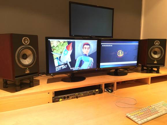 Hackenbacker Post Production Studios Purchase Focal Solo 6BE Active Studio Monitor Speakers from Kazbar Systems