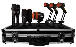 Heil Drum Recording Kits available from Kazbar Systems