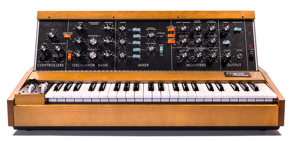 Minimoog Model D Synthesizer available from Kazbar Systems