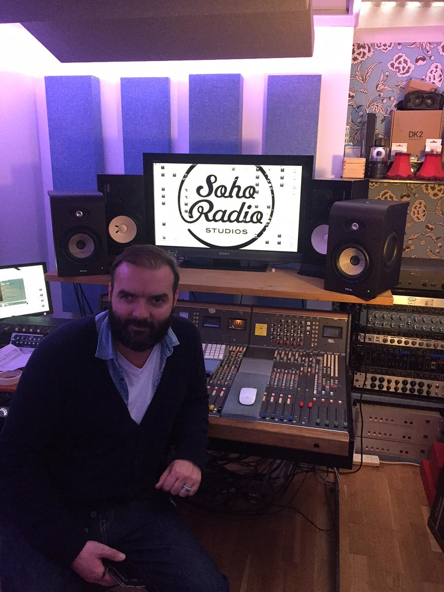 Soho Radio Studio Upgrade from Kazbar Systems