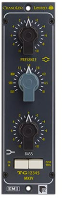 Chandler TG12345 MKIV 500 Series EQ Module available from Kazbar Systems