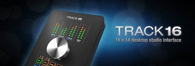 MOTU Track 16 available from Kazbar Systems