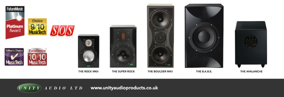 Unity Audio Super Rock & Monolith Bundle available from Kazbar Systems