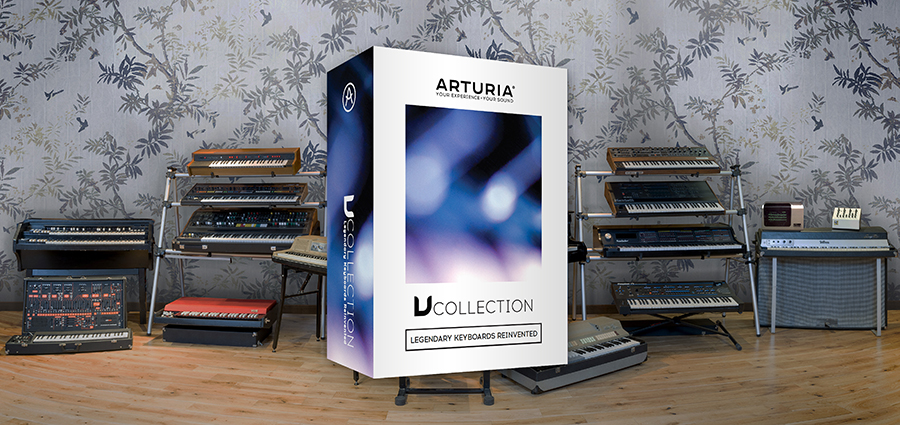 Arturia V-Collection 5 Synth Bundle available from Kazbar Systems