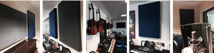 Recording studio facilities Petchey Academy