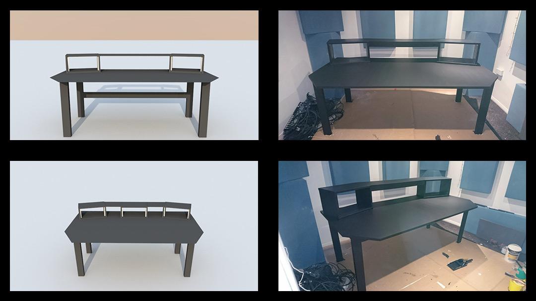 Voxpod Studio Control Room Bespoke Studio Furniture