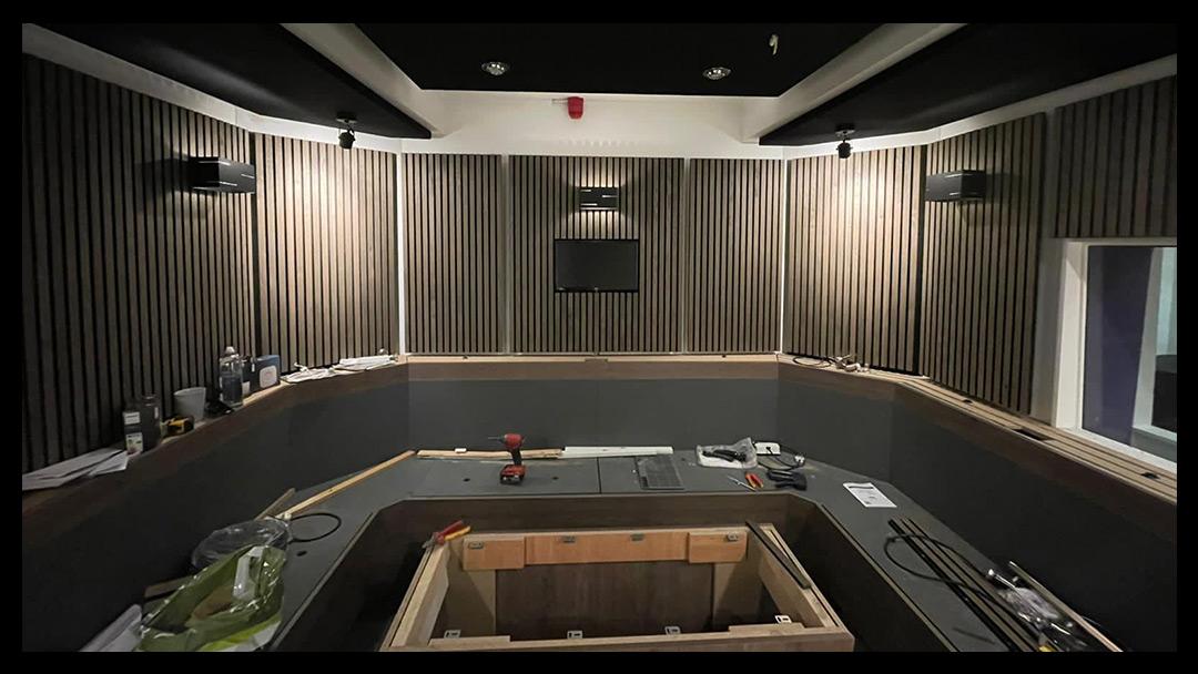 Kazbar Systems Voxpod Studios Construction