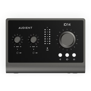 Audient iD14 (MKII) Top
