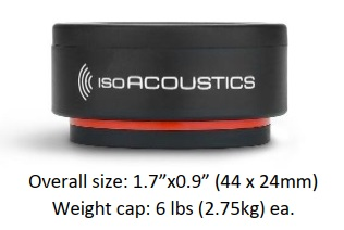 IsoAcoustics ISO Puck Mini