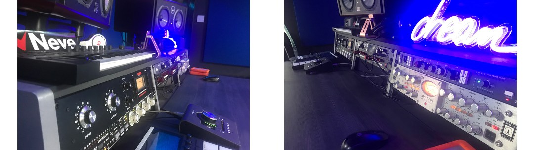 Quays studios Equipment by Kazbar systems