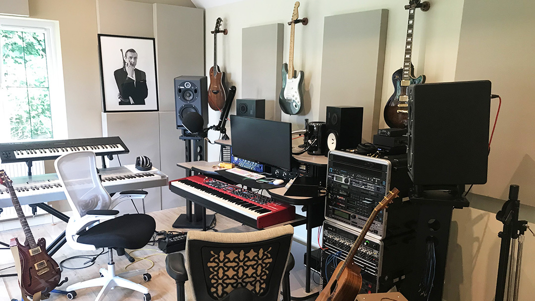 James Robertson Home Recording Studio