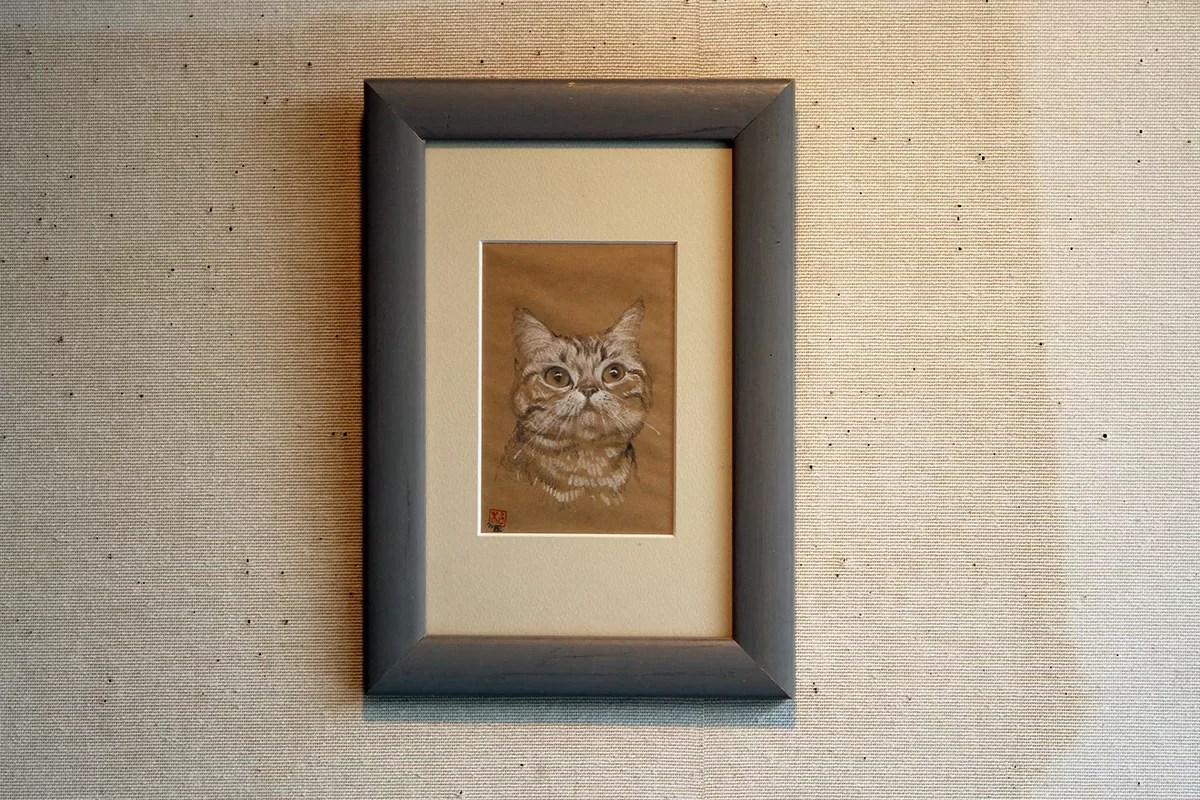 猫 デッサン No.9