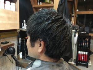 ヘルメットで崩れにくい髪型