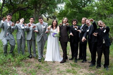 mariage deux tons