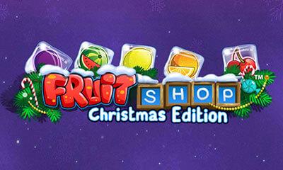 Bonuss Fruit Shop Christmas Edition spēlē kazino Latvijā