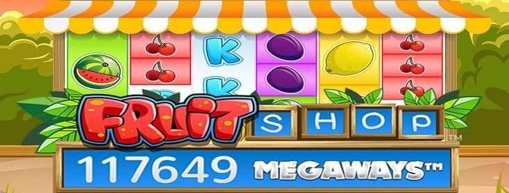 Fruit Shop Megaways kazino spēļu automāts