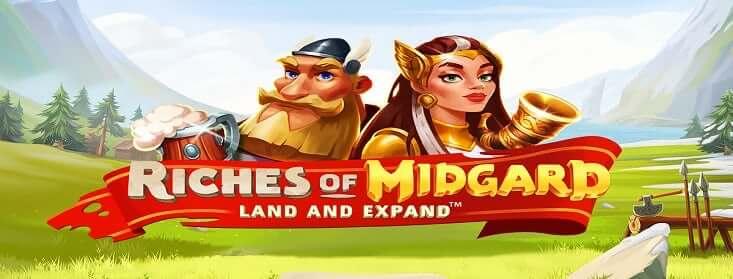 Nedēļas spēle Riches of Midgard Land and Expand 11.lv kazino un totalizators