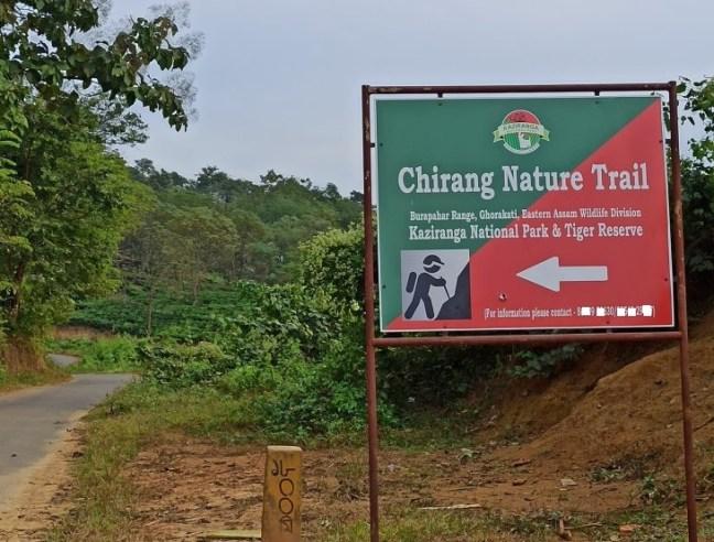 Kaziranga Trekking, Trekking in Kaziranga, Chirang Trail Kaziranga