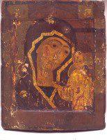 Казанская икона Божией Матери. Последняя четверть 16 века. ГМИИ РТ