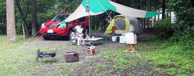 朝霧高原キャンプ場へ行きました〜♪