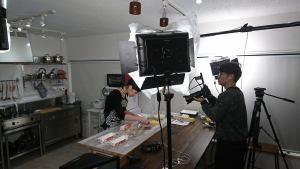料理動画撮影