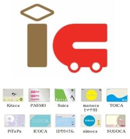 交通系ICカード10種 (Kitaca / PASMO / Suica / manaca / TOICA  PiTaPa / ICOCA / はやかけん / nimoca / SUGOCA)が本日8時から相互利用スタート記念カードなど
