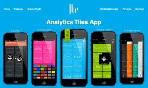 GoogleAnalyticsをiOS7と相性いいシンプルデザインでさらっとチェックできるiPhoneアプリ「Analytics Tiles」