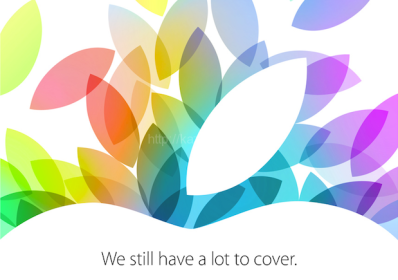 Apple 2013.10.22スペシャルイベント「We still have a lot to cover」が開催