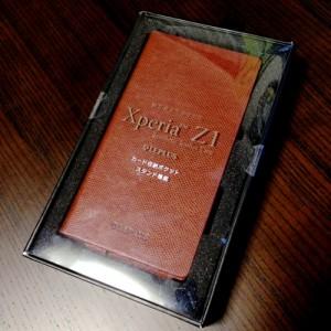 Xperia™ Z1 SO-01F/SOL23 > レザー(合皮)ケース